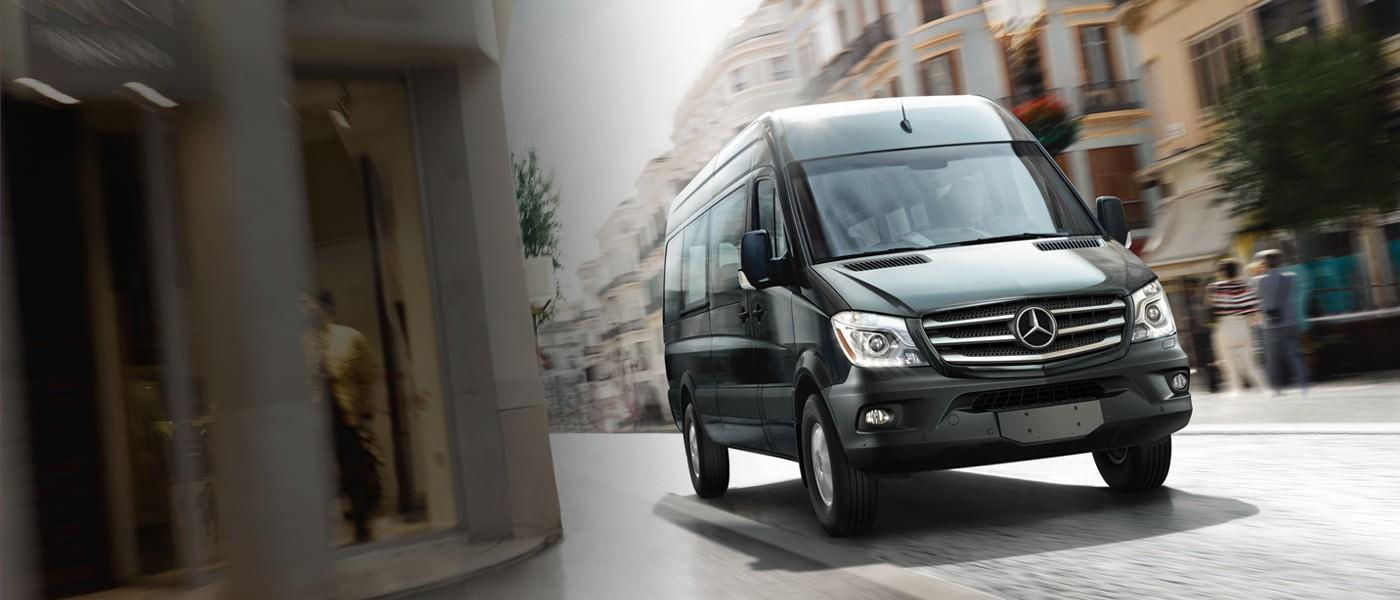 Mercedes Benz Sprinter - Ace Charters Vancouver Tours Fleet - Vancouver Tour - Vancouver Tours - Vancouver City Tours